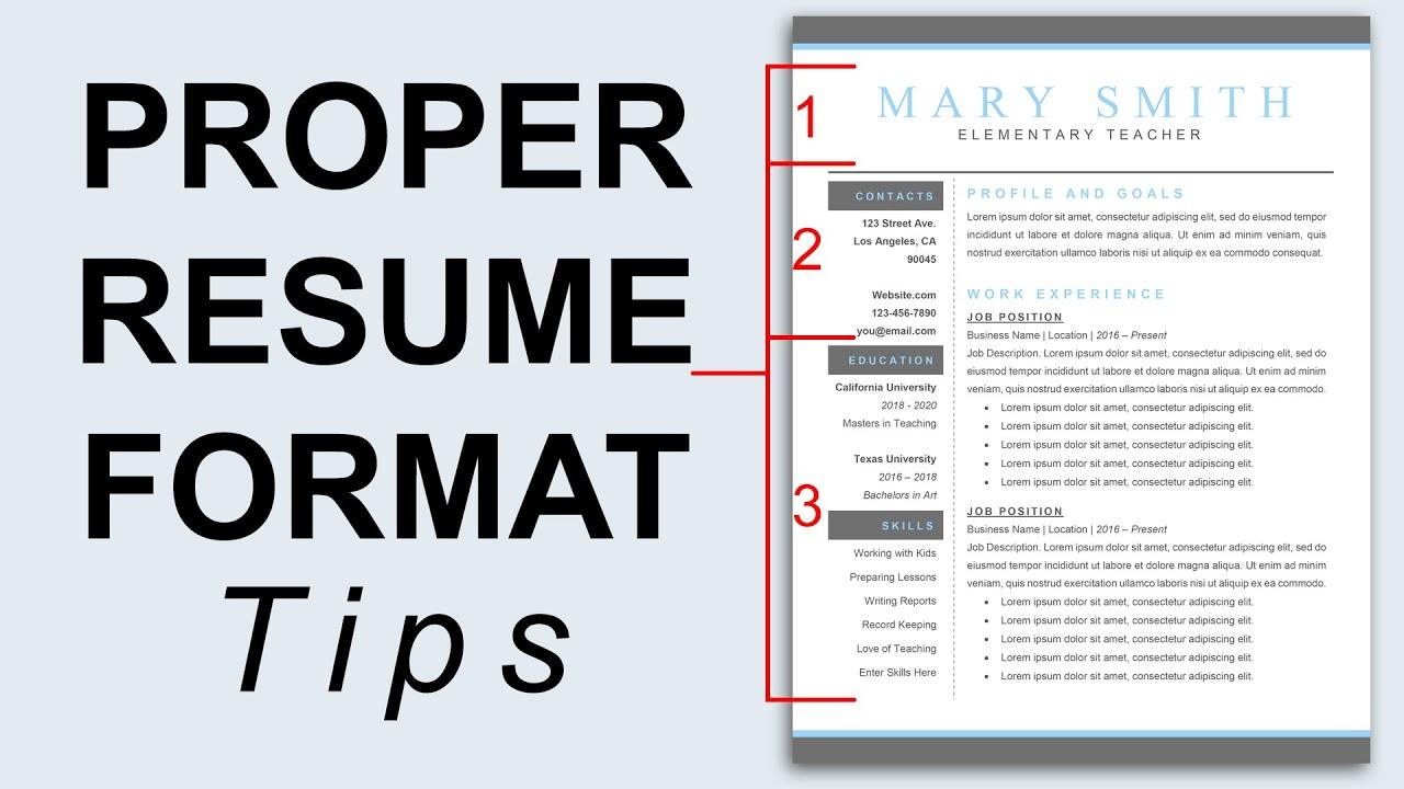 resume rules resume rules karina m tk