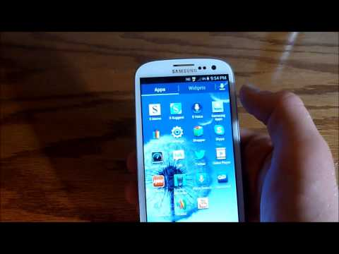 Samsung Galaxy S3 Review Part 1 (Virgin Mobile)