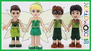 Tinker Bell & the Tinker Fairies as LEGO minidolls