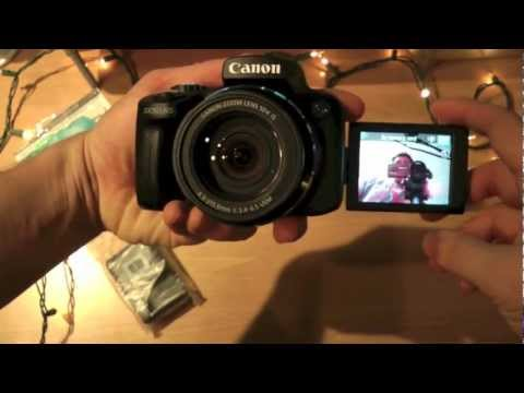 Canon PowerShot SX50 HS Unboxing, Review, First Look and Video & Picture Test