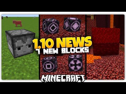 Minecraft 1.10 News   7 NEW BLOCKS (Observer Block, Nether Wart Blocks, MORE) (1.10 Update)