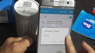 How to change Jio Dongle Password from smartphone itself?