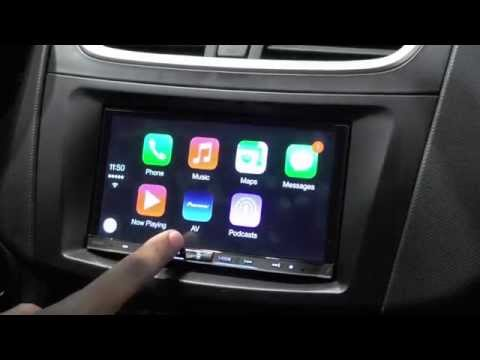 First look at Pioneer's Apple CarPlay system at IFA 2014