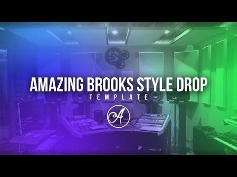 [FL Studio Template]Amazing Brooks Style Drop (Free Download)