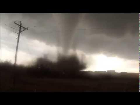 Tornado in North Dakota