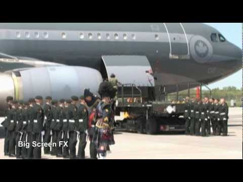 Repatriation Ceremony at CFB Trenton - A Soldier Returns Home. In 2010, I was producing a video The Highway Of Heroes Canada http://www.youtube.com/watch?v=s...