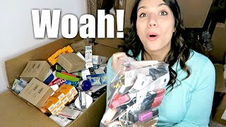 MEGA 500 Item Personal Care Liquidation Lot! Unboxing for Resale on eBay