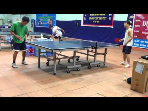 Hai Anh table tennis serve
