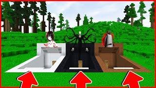 Minecraft : BẠN SẼ CHỌN CĂN HẦM NÀO ? (JEFF THE KILLER, SLENDERMAN, GRANNY) | MK Gaming