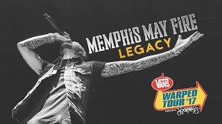 "Memphis May Fire - ""Legacy"" LIVE! Vans Warped Tour 2017"