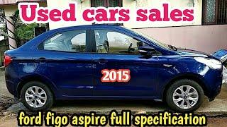 Buying Used cars sales Ford figo aspire 2015 model sales at kumbakonam