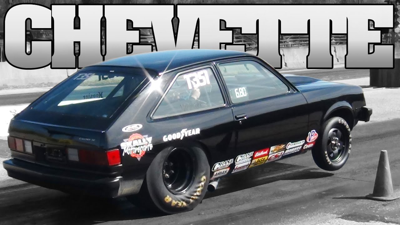 DARTH CHEVETTE drag racing TriState Dragway 2012 - YouTube