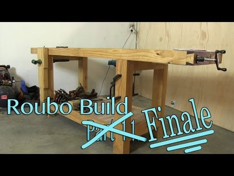 How To Build A Workbench - (Part 7) Cutting Tenons - With Paul Sellers