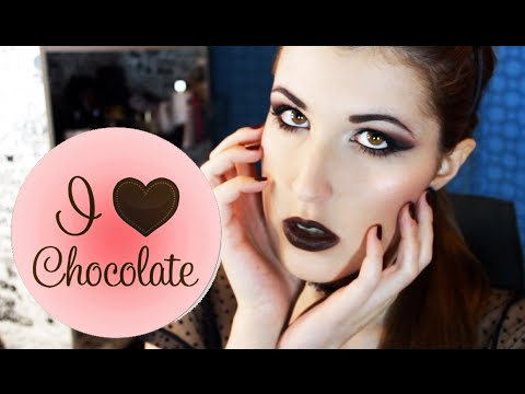 I HEART CHOCOLATE - Dark Lady Makeup | kikimakeup90