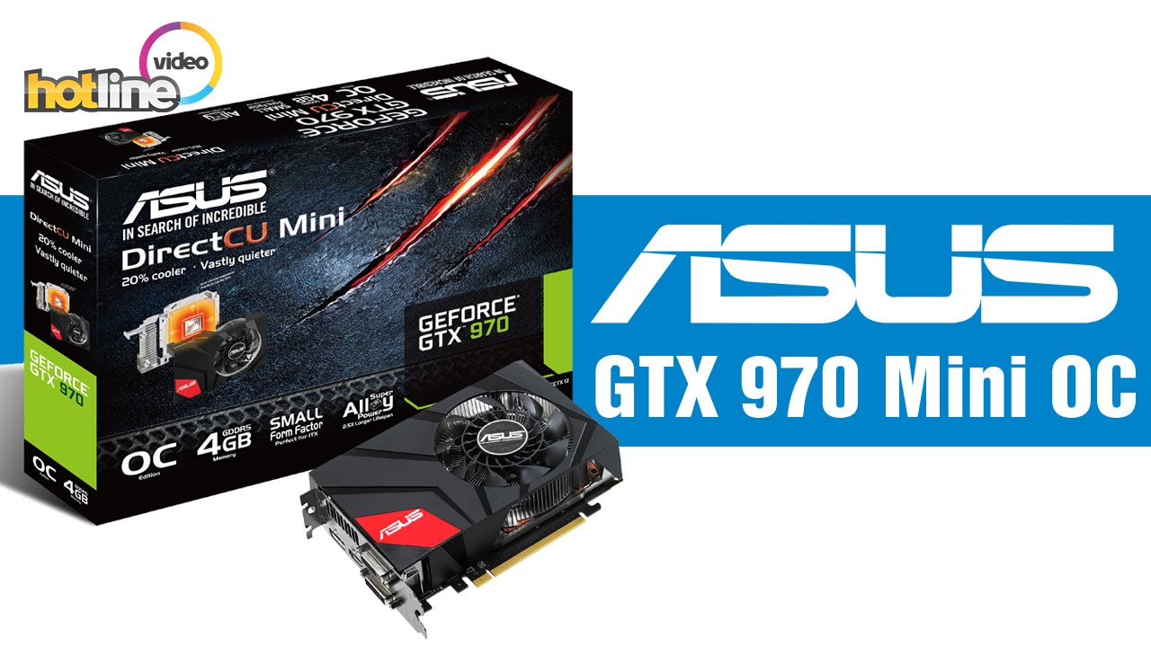 ASUS GTX 970 Mini OC позволяет в рамках формата mini-ITX собрать действител