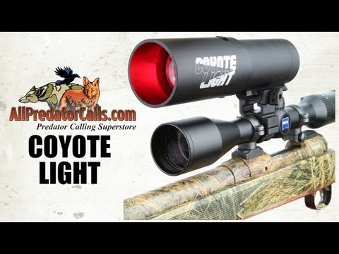 coyote light night hunting light for hogs and predators how to make. Black Bedroom Furniture Sets. Home Design Ideas