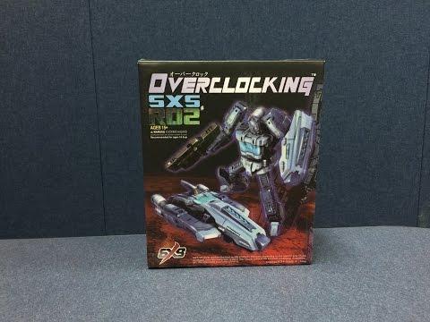 SXS R02 - OVERCLOCKING (IDW Blurr)
