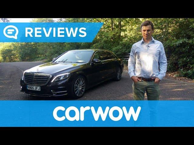 Mercedes S-Class 2017 review | Mat Watson Reviews - YouTube