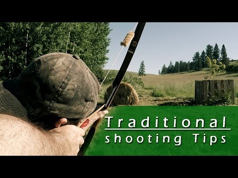 Traditional Archery Tips
