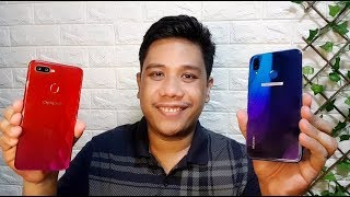 OPPO F9 vs Huawei Nova 3i Camera Test Comparison