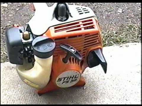 Easy Repair on STIHL FS38 Grass Trimmer - Clogged Spark Arrester
