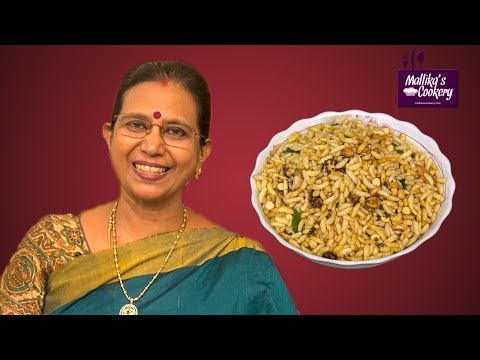MASALA PORI (KARA PORI) : Mallika Badrinath Recipes | Evening Chat Item