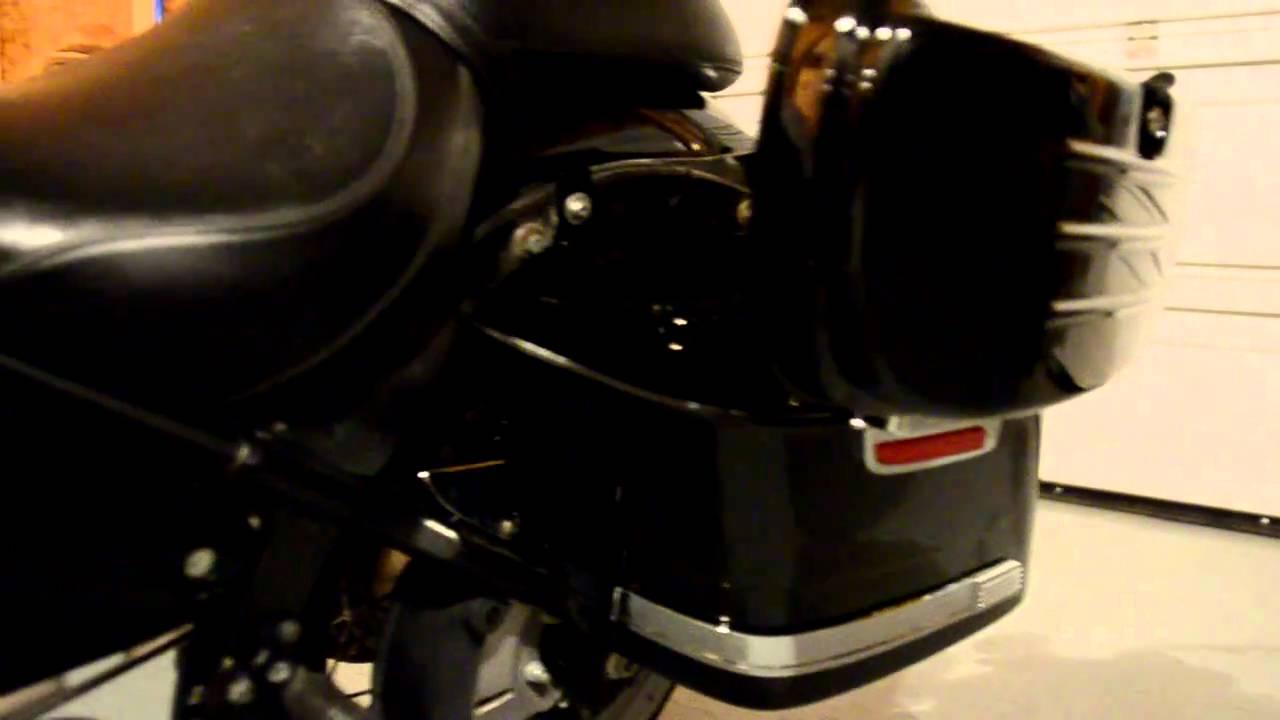 Kawasaki Vulcan Saddlebags
