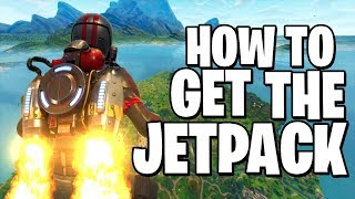 How to Get the JETPACK in FORTNITE BATTLE ROYALE (Easter Egg) (Working)