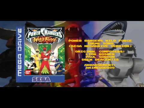 Power Rangers Wild Force Theme Song (Sega Megadrive Version)