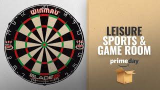 Save Big On Leisure Sports & Game Room | Prime Day 2018: Winmau Blade 5 Bristle Dartboard with