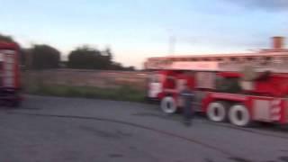 Пожар на нефтебазе БРСМ.