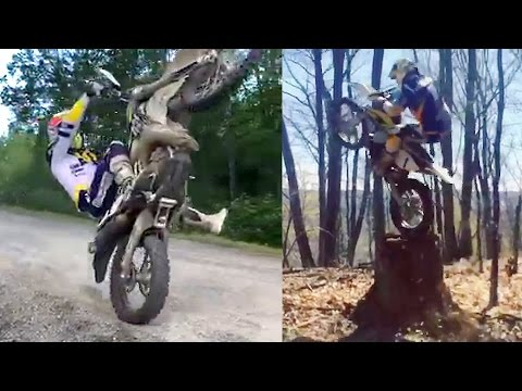 GRAHAM JARVIS: stunts & tricks from his Facebook page