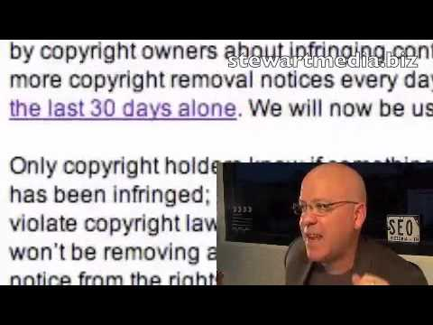 What Google isnt telling you - DMCA