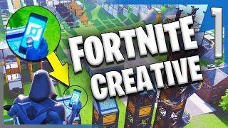 CREATIVE MODE?! IN FORTNITE?!? | Fortnite Creative Mode Gameplay/Let's Play E1