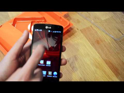 Boost Mobile LG Volt Unboxing And First Look