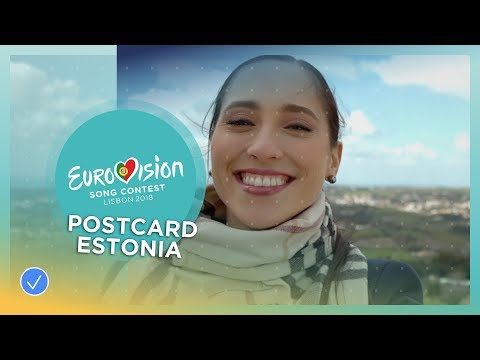 Postcard of Elina Nechayeva from Estonia - Eurovision 2018
