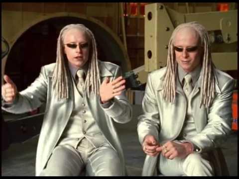 The Matrix Reloaded BTS. Car Chase