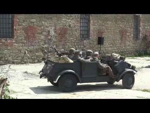 Red Army and partisans vs. Wehrmacht and SS - WW2 / 2. světová válka