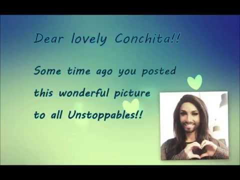 Our hearts for Conchita - The Unstoppables