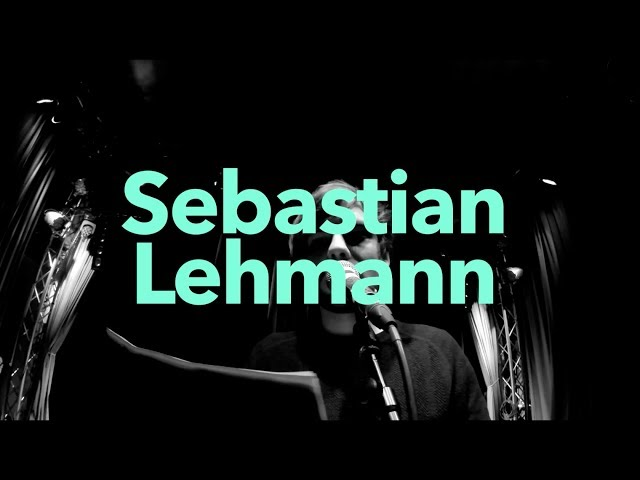 Sebastian Lehmann - DICHTER DRAN