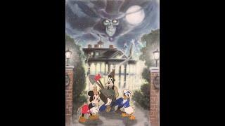 Disneyland's Haunted Mansion Review & Art