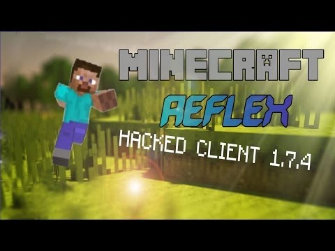 Minecraft 1.7.2 1.7.5 : Hacked Client Reflex The Server Destroyer HD