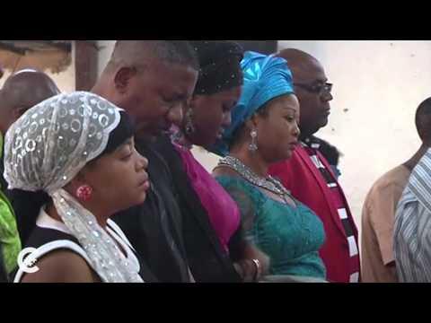 Nigerians pray for missing girls