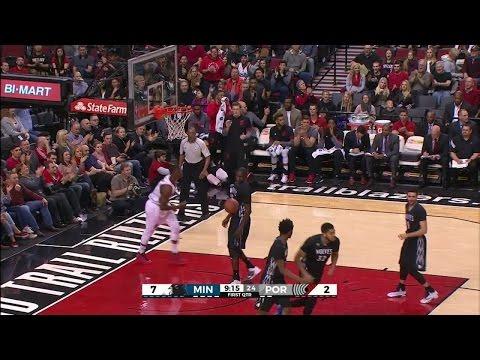 Quarter 1 One Box Video :Trail Blazers Vs. Timberwolves, 1/31/2016 12:00:00 AM