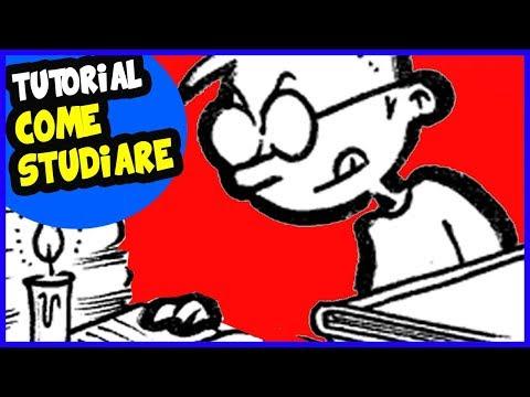 VIDEO TUTORIAL: COME STUDIARE BENE - Vignette animate - Video divertenti - Video divertentissimi