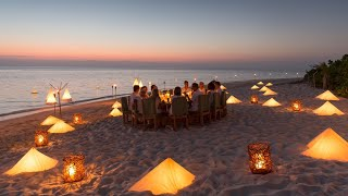 World-class fine dining in the Maldives at Soneva Fushi