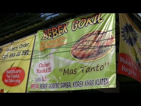 Jakarta Restaurant 26 Mas Tanto Restaurant  Korek Chilly plus Fried Chicken Sambal korek khas klaten