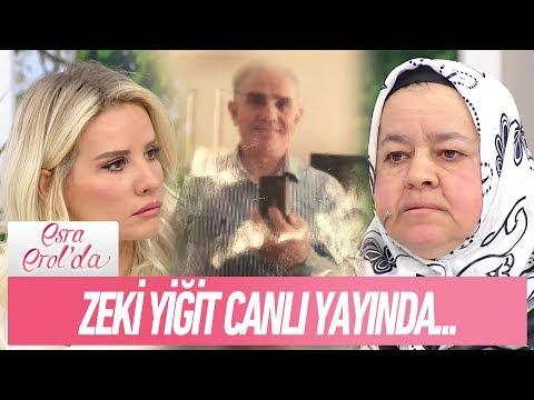 """Ayşe Hanım'ın """"Beni dolandırdı"""" dediği Zeki Yiğit canlı yayında - Esra Erol'da 3 Kasım 2017"""