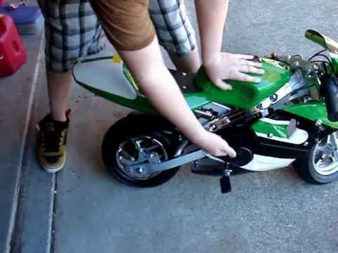 Pocket Bike Start Up