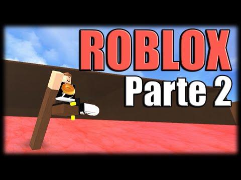 Jogando Roblox - Zuando no Vulcão - Parte 2